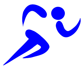 runner blue