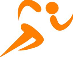runner orange