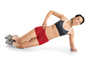 side plank a