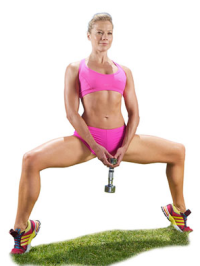 plie squat and calf raise