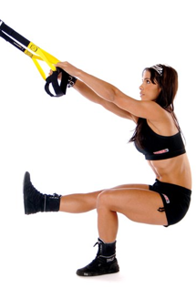 TRX Single Leg Squat