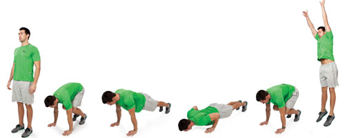 burpee advanced