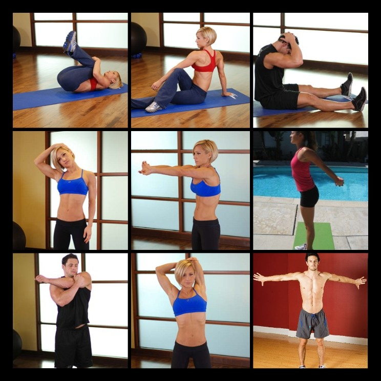 Upper Body Stretches
