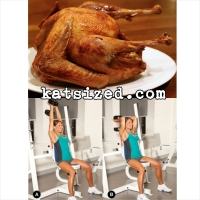 triceps extension and turkey