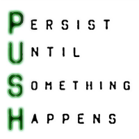 Motivational Monday: P.U.S.H.