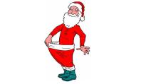 santa slims down