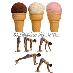 ice cream inchworm