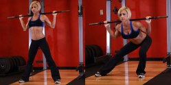 side split squat bb